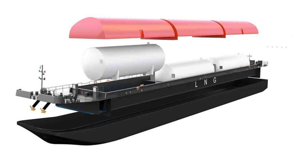 LNG TANKER - Naval design by WERKEMOTION design studio