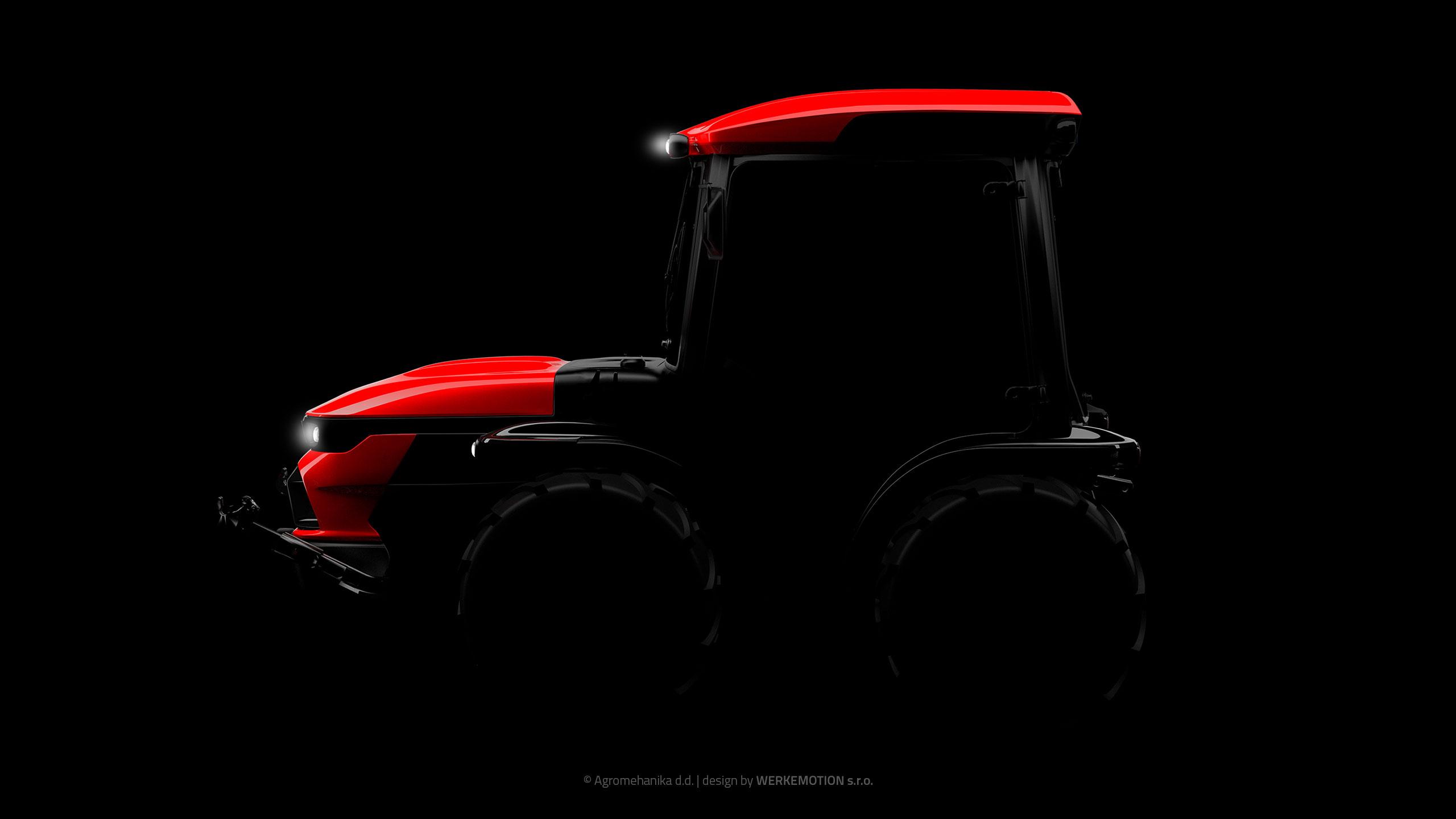 Agromehanika tractor
