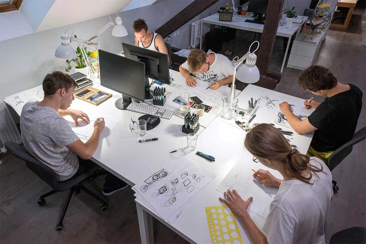 WERKEMOTION design studio Summer workshop 2019 - Thursday