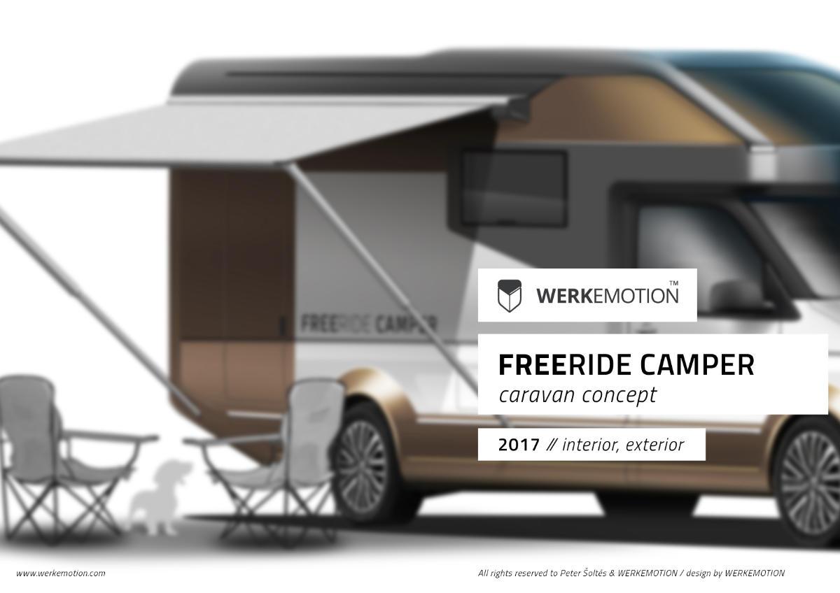 FREERIDE CAMPER - RV design by werkemotion design studio