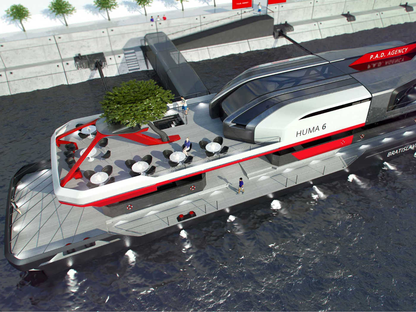 HUMA6 – Floating pier