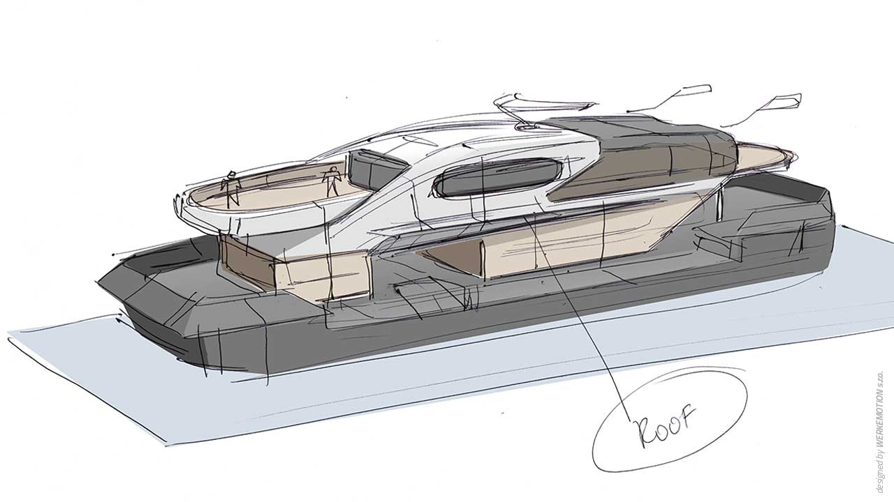 Floating pier HUMA 6 - Naval design by WERKEMOTION - Making of