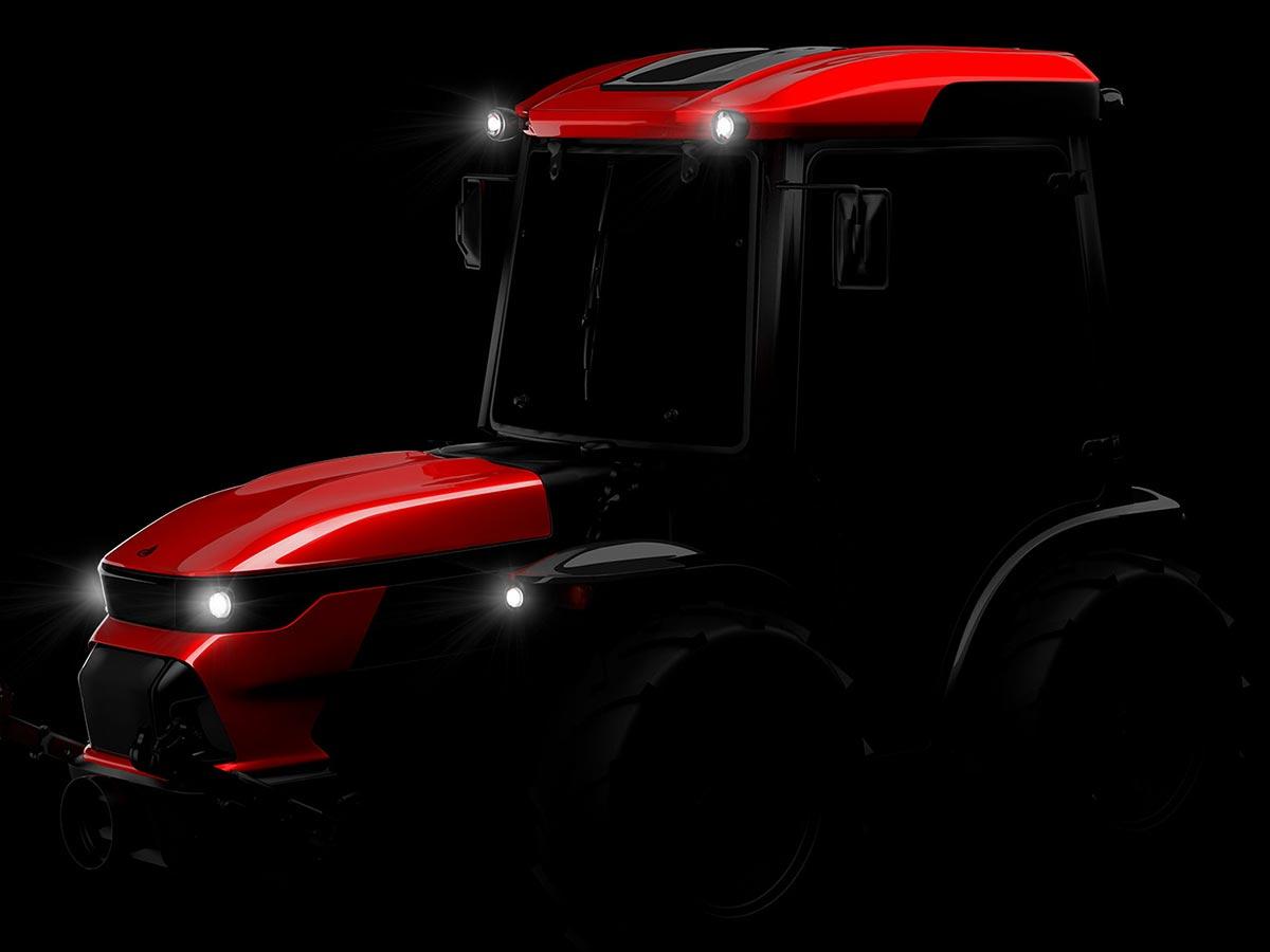 Agromehanika Tractor teaser