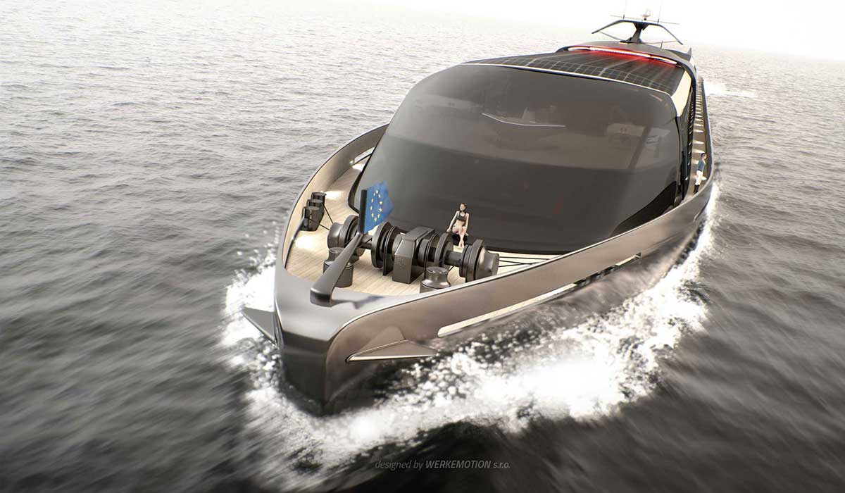 FDM RIver boat design by WERKEMOTION
