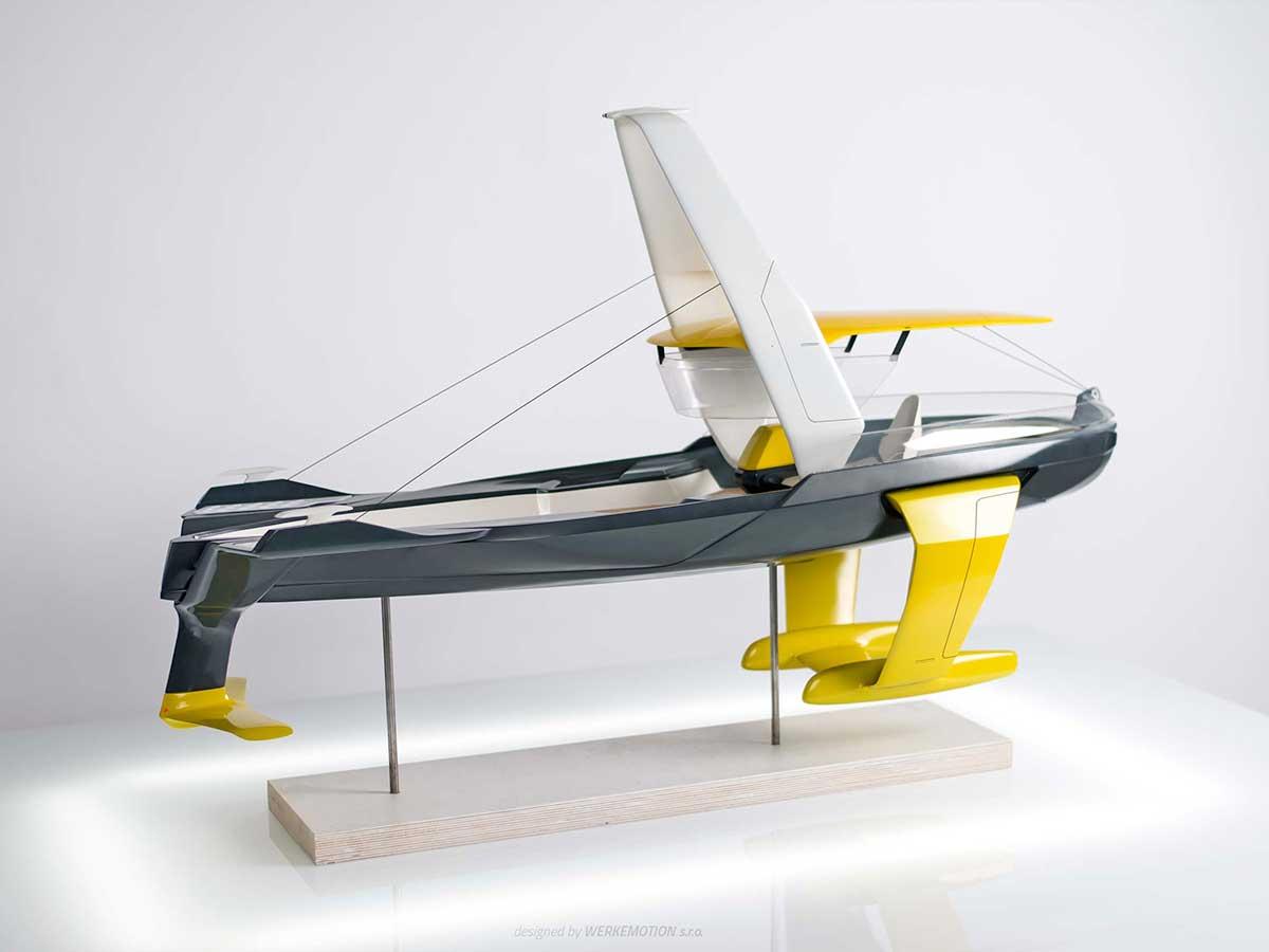STRIDER - hydrofoil concept