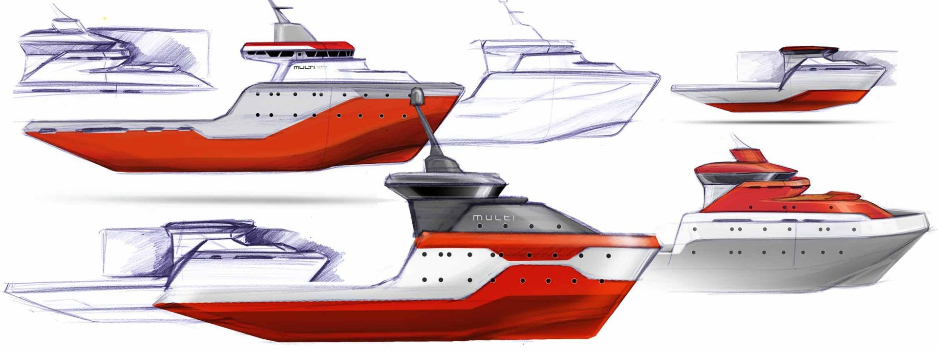 Multi Engineering naval design by WERKEMOTION