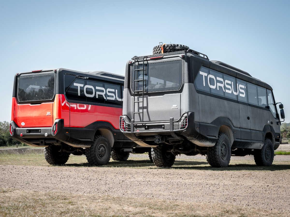 Torsus Praetorian 4x4 Offroad bus by WERKEMOTION
