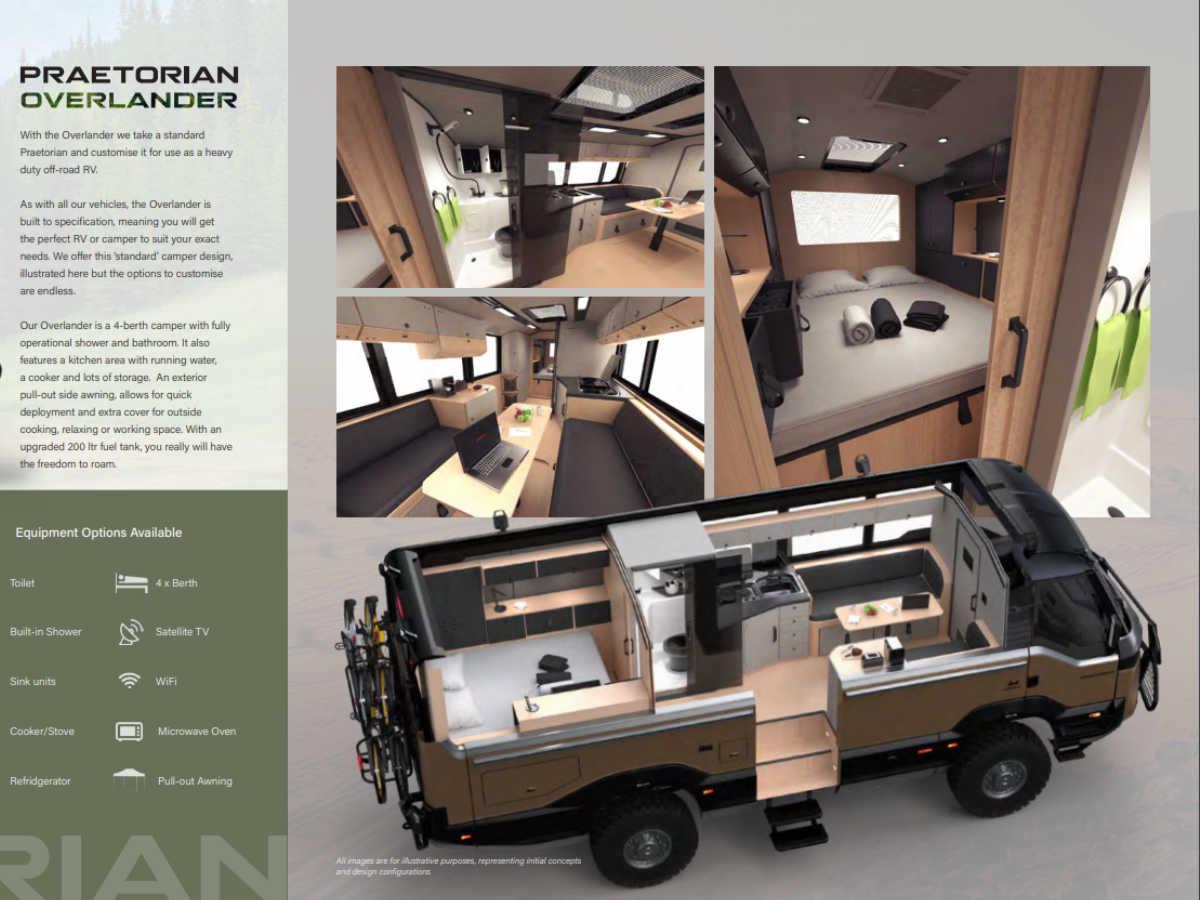 TORSUS Praetorian RV configuration - design by WERKEMOTION