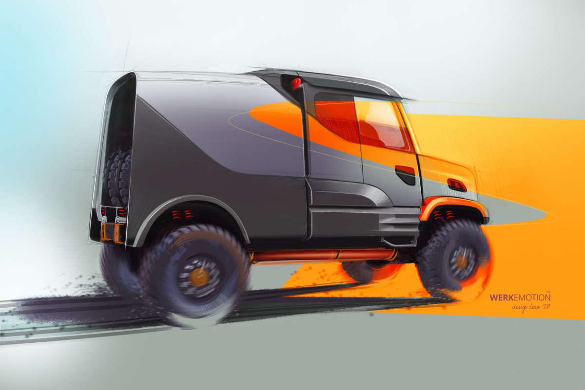 FESH FESH DAKAR Truck - design by WERKEMOTION