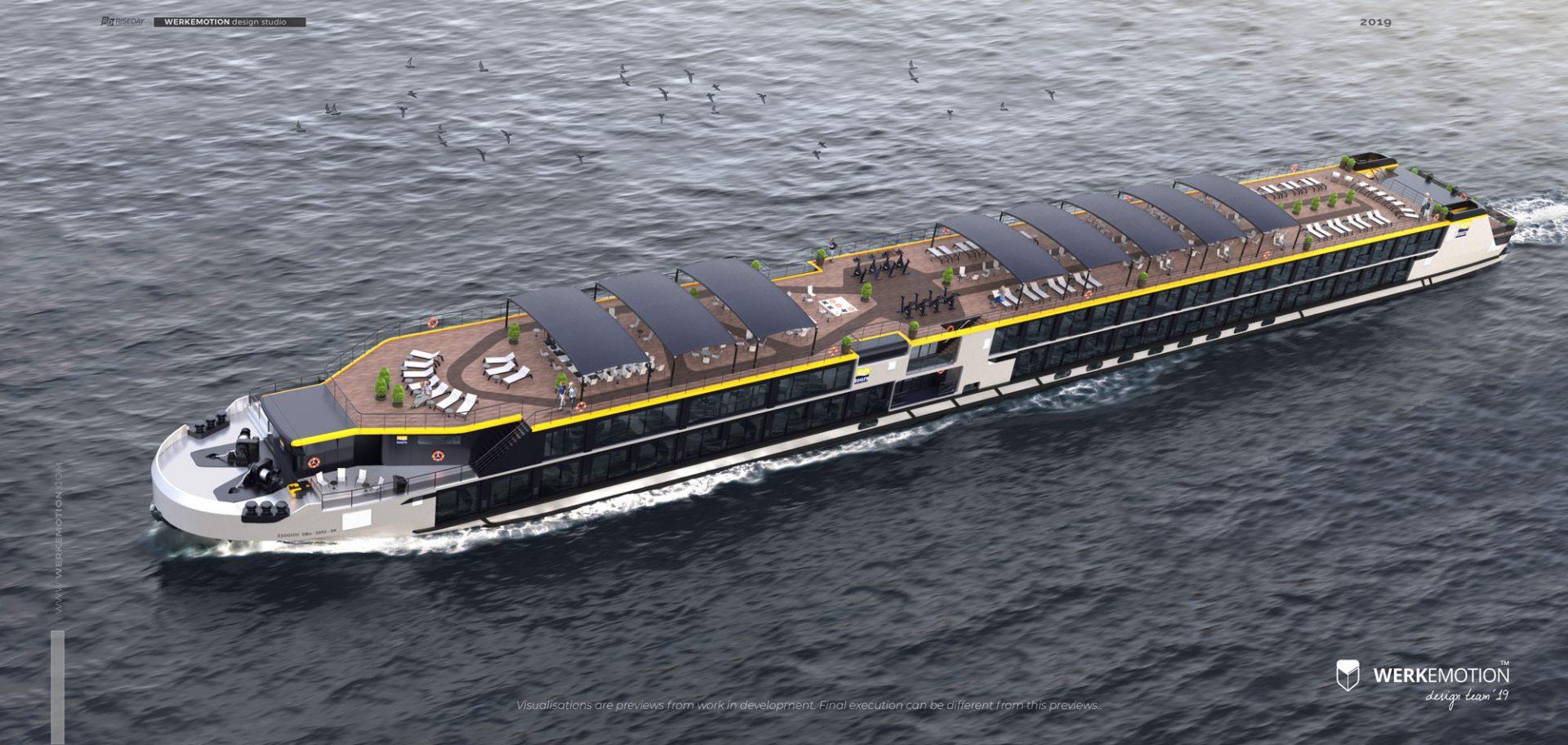Albertina River Cruiser design by WERKEMOTION